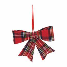 Jacky bow tartan s