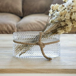 Rm rustic rope vase