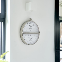 Brooklyn double wall clock