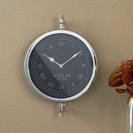 Rm hotel wall clock