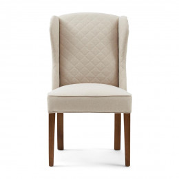 William dining chair oxford weave flanders flax