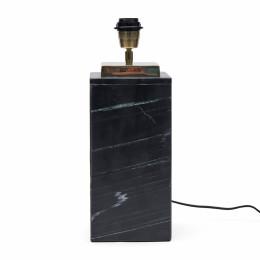 Sierra marble square lamp base