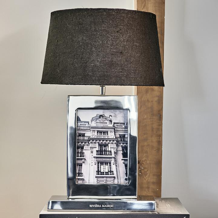 Classic club photo frame table lamp