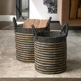 City loft basket set of 2 pieces