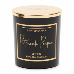 Rm patchouli pepper scented candle
