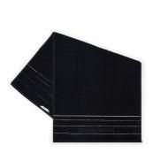 Rm elegant towel black 100x50