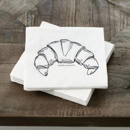 Paper napkin le croissant