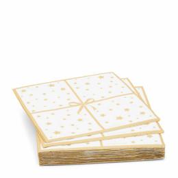 Paper napkin starry night