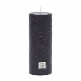 Rustic candle black 7x18