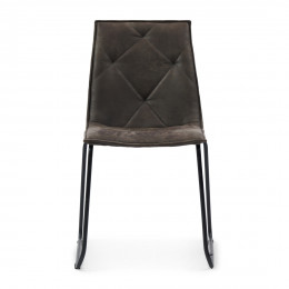 Venice park stackable chair set 2 pellini espresso