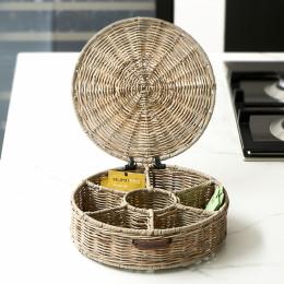 Rr tea box round