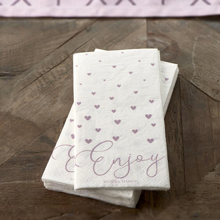 Paper napkin enjoy