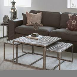 Medan 3 piece coffee table set