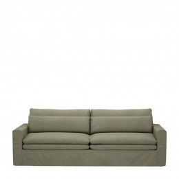 Continental sofa 3 5s forest green