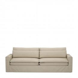 Continental sofa 3 5s flanders flax
