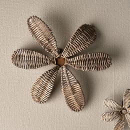 Rustic rattan decoration flower medium