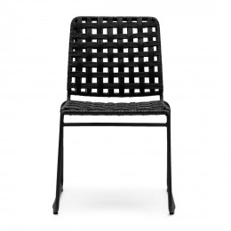 Christopher outdoor stackable chair lava