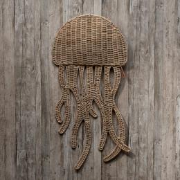 Rr rattan jellyfish wall decoration