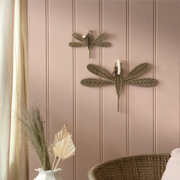 Rr rattan dragonfly decoration small
