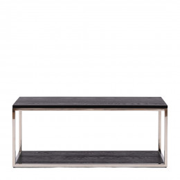 Nomad coffee table black 100x40 cm