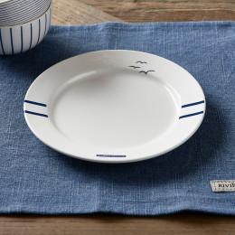 Sylt porcelain breakfast plate