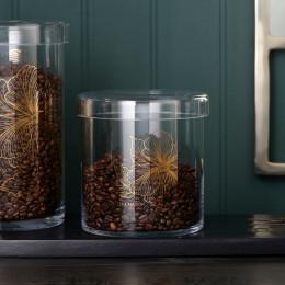 Les fleurs storage jar medium