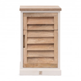 Pacifica bed cabinet left