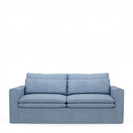 Continental sofa 2 5s ice blue