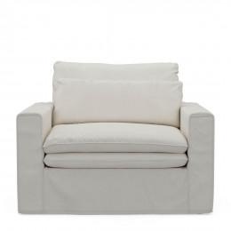 Continental love seat alaswhite