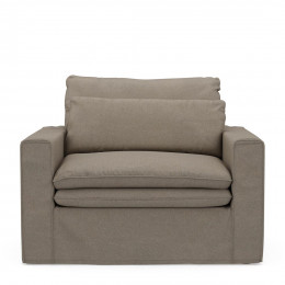 Continental love seat anvflax