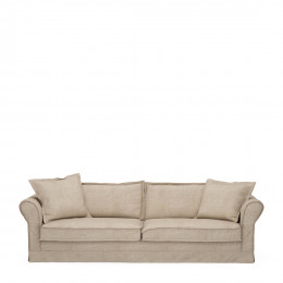 Carlton sofa 3 5s cotton natural