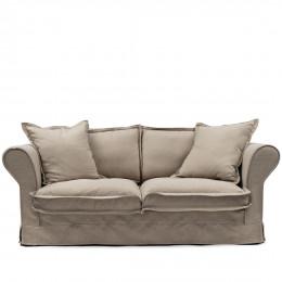 Carlton sofa 2 5s cotton natural