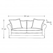 Carlton sofa 2 5s alaswhi