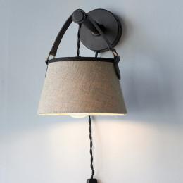 Harbor buckle wall lamp