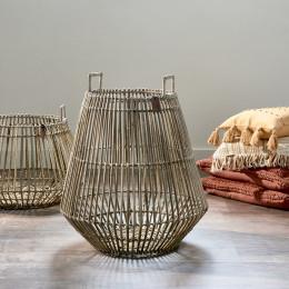 Byron bay rattan basket large