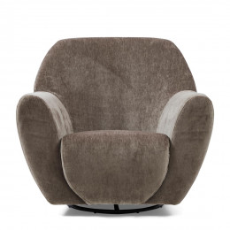 The jill swivel chair velvet olive