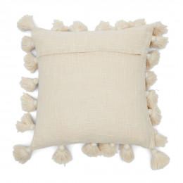 Fleur pompom pillow cover 50x50cm