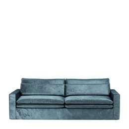 Continental sofa 3 5s velvet petrol