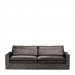Continental sofa 3 5s vel grigrey