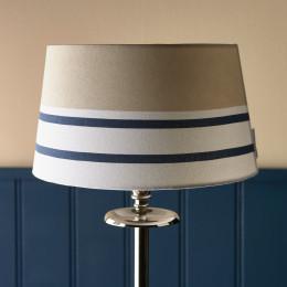 Beach stripe lamp shade 25x30cm
