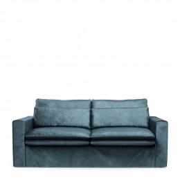 Continental sofa 2 5s velvet petrol
