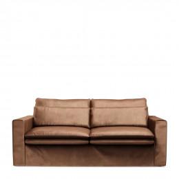 Continental sofa 2 5s velvet choco