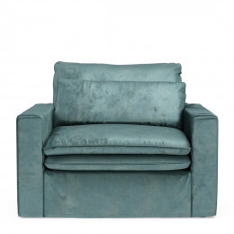 Continental loveseat vel minblue