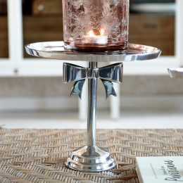 Classic bow cake stand l