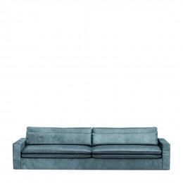 Continental sofa xl velvet petrol