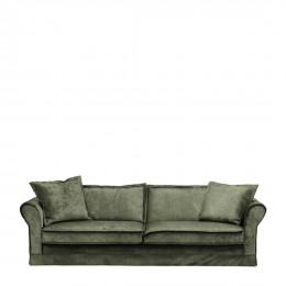 Carlton sofa 3 5 seater velvet ivy