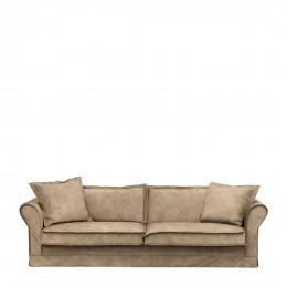 Carlton sofa 3 5 seater velvet golden beige