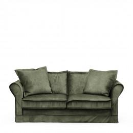 Carlton sofa 2 5s velvet ivy