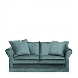 Carlton sofa 2 5s velvet minblue