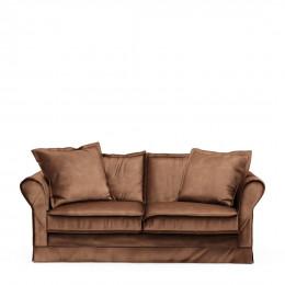 Carlton sofa 2 5s velvet choco